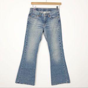 LUCKY BRAND Light Wash Flared Denim Jeans 27 4